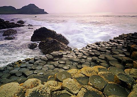 Giant's Causeway, County Antrim, Northern Ireland, United Kingdom, Europe