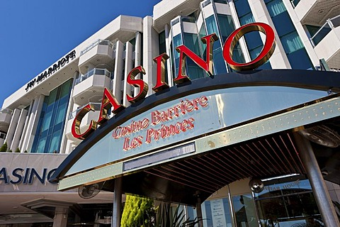 Casion on La Croisette, Cannes, Cote díAzur, Southern France, France, Europe, PublicGround