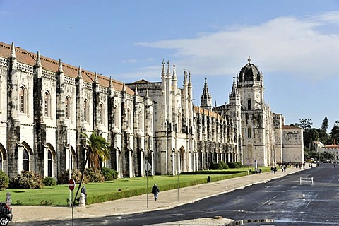 Mosteiro dos Jeronimos, Hieronymites Monastery, Unesco World Heritage Site, Belem district, Lisbon, Portugal, Europe