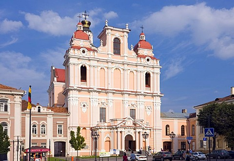 Church of St. Casimir, Vilnius, Lithuania, Europe