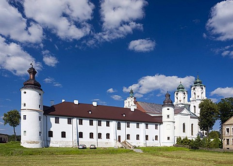 The former Dominican monastery and the Basilica Minor Church of the Visitation of the Virgin Mary, Sejny, Poland, Europe