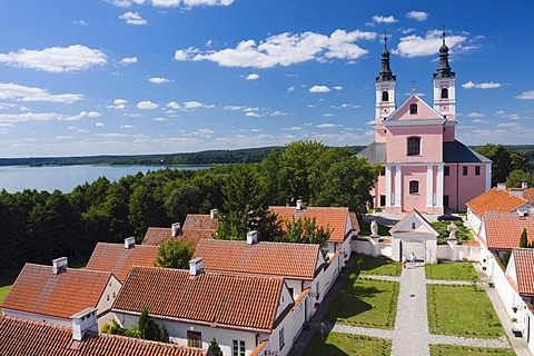 Camaldolese monastery and the Immaculate Conception of Mary church, Wigry, Poland, Europe
