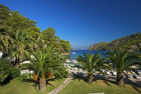 Hillside Club in Fethiye, Turkish Aegean Coast, Turkey