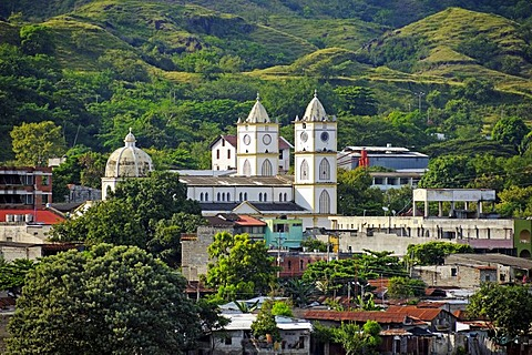 View of the city of Honda, Colombia, South America, Latin America