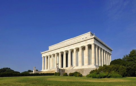 Lincoln Memorial, Washington DC, District of Columbia, United States of America, USA
