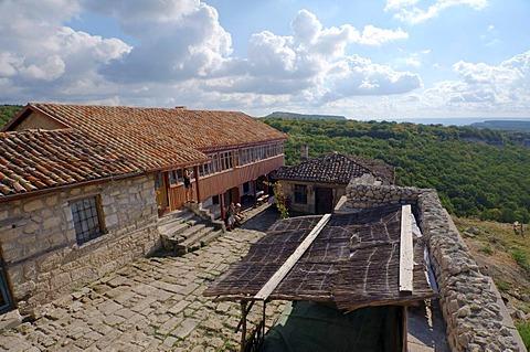 cufut Qale, Chufut-Kale, cave city, Jewish fortress, Crimea, Ukraine, Eastern Europe