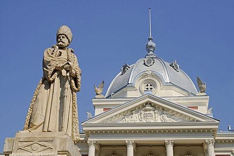 Sculpture, Coltea Hospital, Bucharest, Romania, Eastern Europe, PublicGround