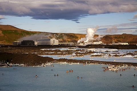 Blue Lagoon, hot springs and spa, Grindavik, Iceland, Europe - 832-59708