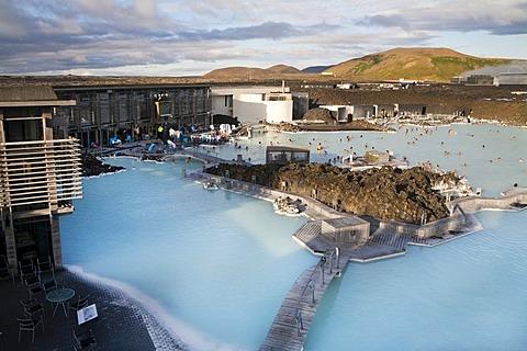 Blue Lagoon, hot springs and spa, Grindavik, Iceland, Europe