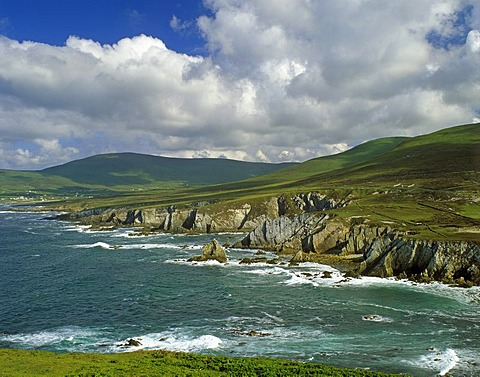 Coast, Ashleam Bay, Achill Island, County Mayo, Republic of Ireland, Europe
