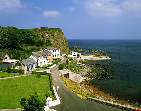 Portbraddon on White Park Bay, County Antrim, Northern Ireland, United Kingdom, Europe