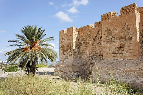 Bordj El Kebir fort in Houmt Souk on Djerba Island, Tunisia, Maghreb, North Africa, Africa