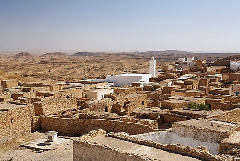 View of Toujane, Tunisia, Maghreb region, North Africa, Africa