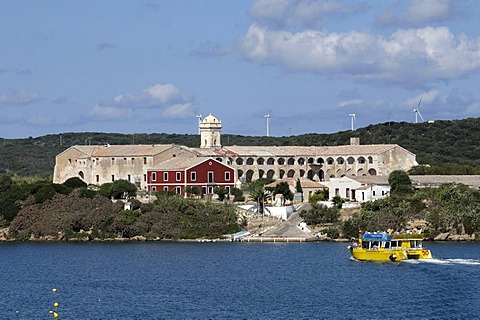 Illa del Rei, King Island, Mao, Mahon, Menorca, Balearic Islands, Spain, Europe