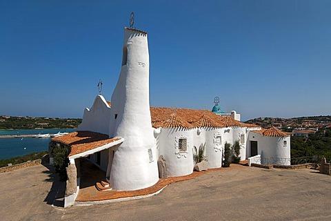 Stella Maris Church, Porto Cervo, Costa Smeralda, Sardinia, Italy, Europe