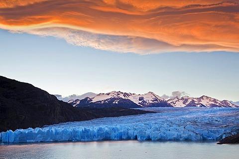 Grey Glacier, Torres del Paine National Park, Patagonia, South America