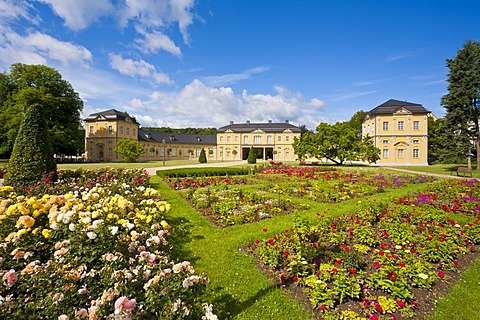 Kuechengarten, Kitchen Garden Park and the Orangery in Gera, Thuringia, Germany, Europe