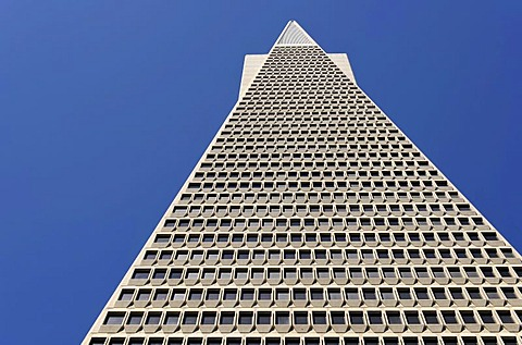 Transamerica Pyramid, skyscraper, Financial District, San Francisco, California, United States of America, USA, PublicGround