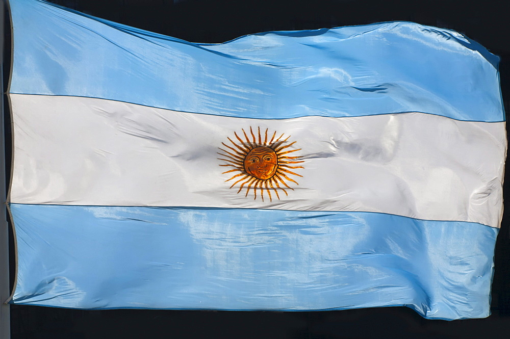 Argentinean flag, Buenos Aires, Argentina, South America