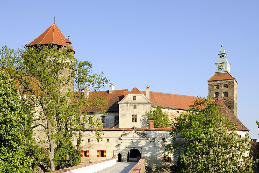 Schlaining Castle, Burgenland, Austria, Europe