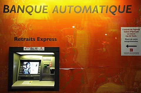 ATM, Reims, Champagne-Ardenne, France, Europe, PublicGround
