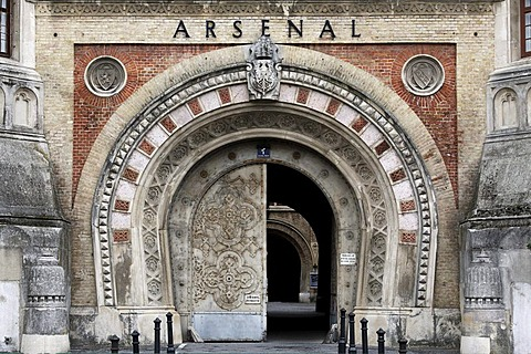 Entrance to the Arsenal, Military History Museum, Vienna, Austria, Europe