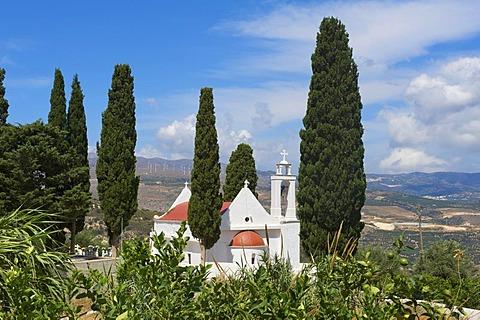 Church, Lasithi Plateau, Crete, Greece, Europe