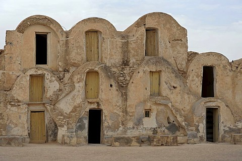Ksar or Berber village in Metameur, Southern Tunisia, Tunisia, Maghreb, North Africa, Africa