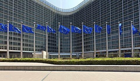 European Commission, the Berlaymont building, Brussels, Belgium, Europe, PublicGround