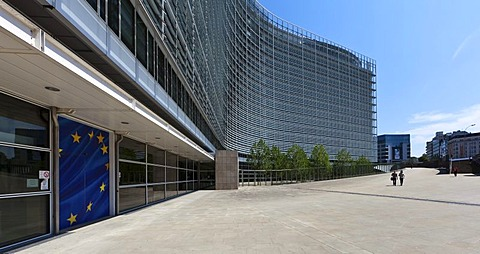 European Commission, the Berlaymont building, Brussels, Belgium, Europe