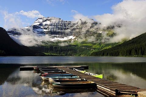Cameron Lake in Waterton Lakes National Park, Alberta, Canada