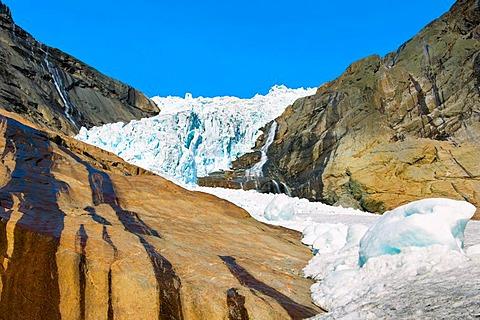 Briksdal glacier, Norway, Europe