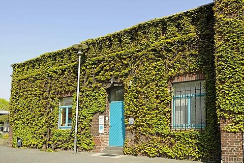 Former zinc factory Altenberg, LVR, Rhineland Industrial Museum, Route of Industrial Heritage, Oberhausen, Ruhrgebiet area, North Rhine-Westphalia, Germany, Europe