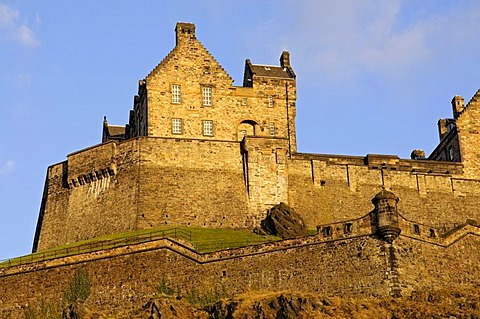Edinburgh Castle, Midlothian, Scotland, United Kingdom, Europe
