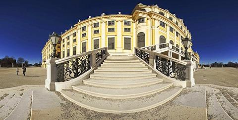 Schloss Schoenbrunn palace, UNESCO World Heritage Site, Vienna, Austria, Europe