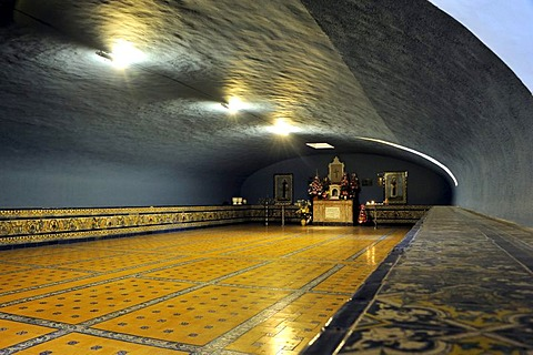 Catacombs, burial place for monks, in the Dominican convent of Nuestra Senora del Rosario, Lima, UNESCO World Heritage Site, Peru, South America