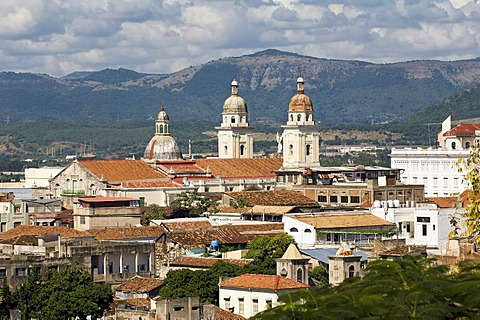 Cathedral Nuestra Senora de la Asuncion, seat of government of the province, Santiago de Cuba, Cuba