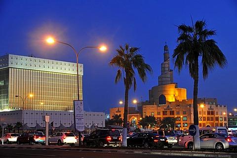 Tower of the Qatar Islamic Cultural Center FANAR, Doha, Qatar, Middle East