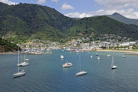 Port of Picton, Queen Charlotte Sound, South Island, New Zealand