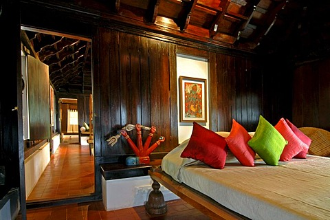Room of a suite, Boutique Hotel Privacy, Malabar Escapes, Vembanad Lake, Kerala, India, South India