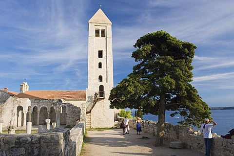 Church of Sveti Ivan Krstitelj, Rab, Rab island, Kvarner Gulf, Croatia, Europe
