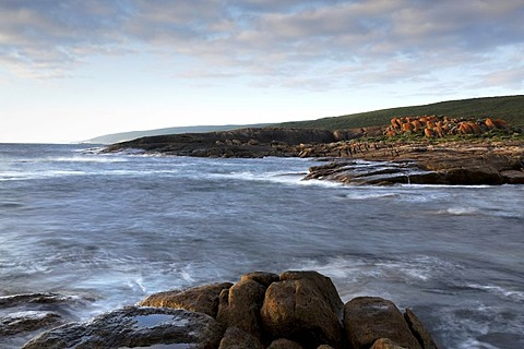 Rocky coastline, Augusta, Western Australia, Australia
