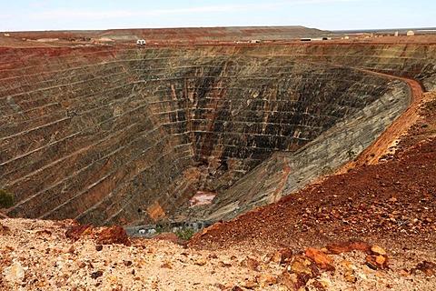 Super Pit gold mine, Kalgoorlie, Western Australia