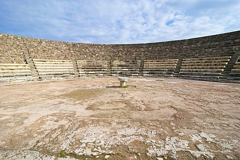 Amphitheatre, Roman archaeological site of Salamis, Turkish part of Cyprus