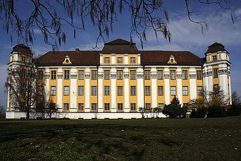 Neues Schloss Castle, Tettnang, Lake Constance Region, Baden-Wuerttemberg, Germany, Europe