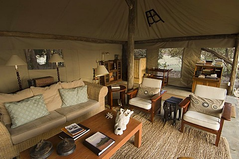 Kalamu Tented Camp, South Luangwa National Park, Zambia, Africa
