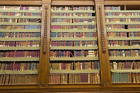 Biblioteca Palatina, Palatina Library, Parma, Emilia-Romagna, Italy, Europe