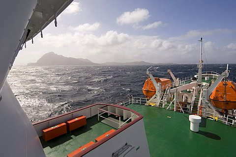 Antactic Dream navigation on rough seas near Cape Horn, Tierra del Fuego, Drake Passage, Antarctic Ocean, Patagonia, Chile, South America