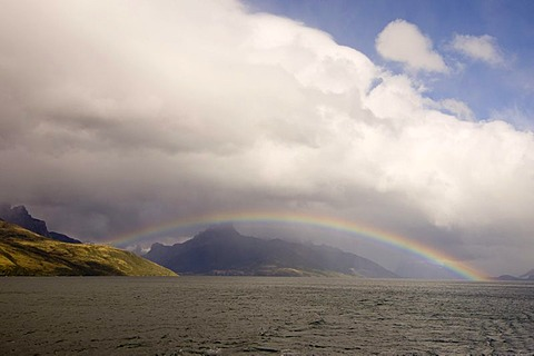 Agostini Fjord, Tierra del Fuego, Patagonia, Chile, South America