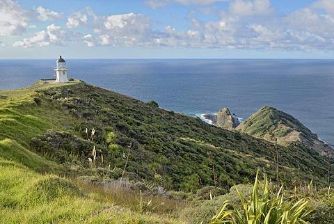 Cape Reinga with Lighthouse, North Island, New Zealand